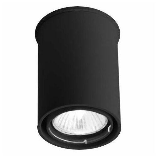 Spot lampa sufitowa osaka 1119 natynkowa oprawa tuba downlight czarny marki Shilo