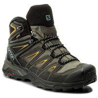 Trekkingi SALOMON - X Ultra 3 Mid Gtx GORE-TEX 401337 28 W0 Castor Gray/Green Sulphur
