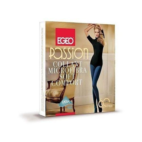 Rajstopy Egeo Passion Soft Comfort 60 den S-L 3-M, beżowy/toffie. Egeo, 2-S, 3-M, 4-L