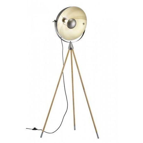 Lampa Stojąca Trio Leuchten DELHI Nikiel matowy, 1-punktowy - Vintage - Obszar wewnętrzny - DELHI - Czas dostawy: od 2-3 tygodni
