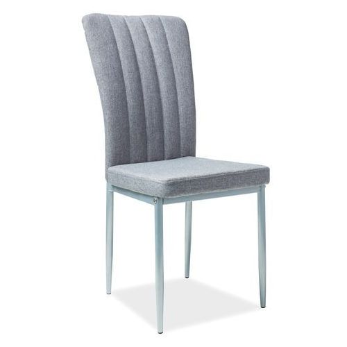Signal meble Krzesło h733 szary materiał aluminium stelaż
