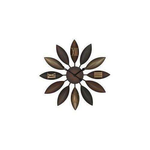Beliani Zegar ścienny brązowy beinwil