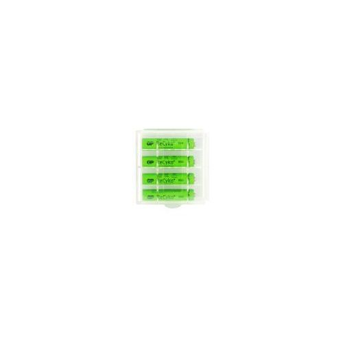 4 x akumulatorki R03/AAA GP ReCyko+ 950 Series 950mAh (solidny pojemnik)