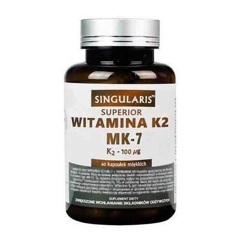 Kapsułki SINGULARIS Witamina K2 MK7 100mcg x 60 kapsułek