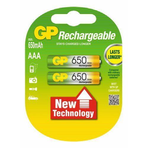 2 x akumulatorki GP R03 AAA Ni-MH 650 (akumulatorek)