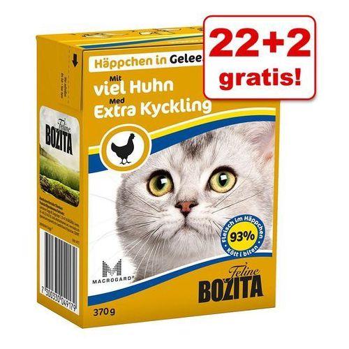 22 + 2 gratis! w galarecie, 24 x 370 g - mielone mięso wołowe| darmowa dostawa od 89 zł i super promocje od zooplus!| -5% rabat dla nowych klientów marki Bozita