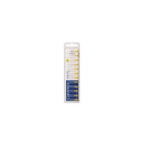Curaprox zestaw szczoteczek PRIME REFILL CPS 09 kolor żółty (12szt.) (7612412422740)