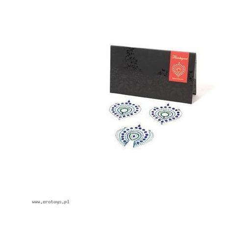 Bijoux Indiscrets - Flamboyant, niebiesko-zielone, BU027A (6543097)