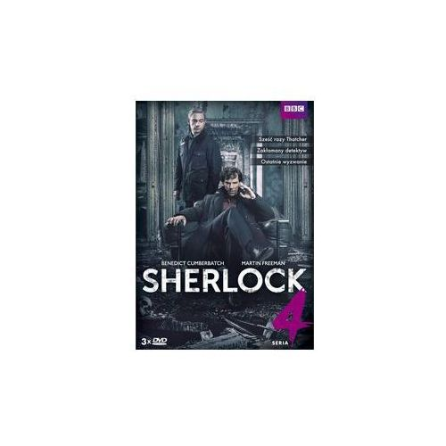 Sherlock seria 4 3dvd -  marki Best film