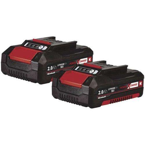 Einhell akumulator power x-change 18v (2x2,0 ah) twinpack (4006825638561)