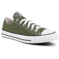 Trampki CONVERSE - Ctas Ox 166711C Cypress Green, kolor zielony