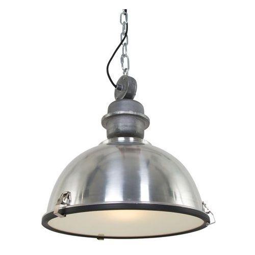 Przemysłowa lampa wisząca stal - gospodin marki Steinhauer