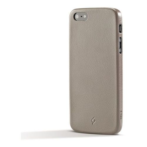 Etui TTEC 2PNA2013F Slimfit do Apple iPhone SE/5S/5 Szary, TSLIMFITIPH5GY
