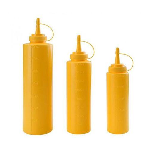 Dyspenser do sosów 0,25 l, żółty   , t-61925a marki Tomgast