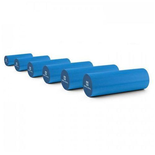 Caprole 2 wałek do masażu roler 6 szuk 45 x 15 cm niebieski