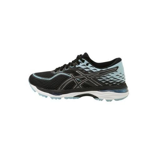 ASICS GELCUMULUS 19 Obuwie do biegania treningowe black/porcelain blue/white (4549846680732)