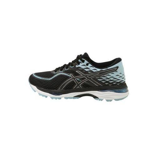 ASICS GELCUMULUS 19 Obuwie do biegania treningowe black/porcelain blue/white (4549846681555)