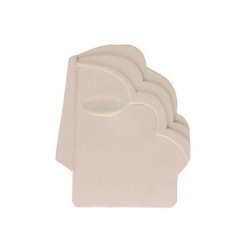 Hk living ozdoba ścienna maska kremowa mat rozmiar m awd8883 (8718921028721)