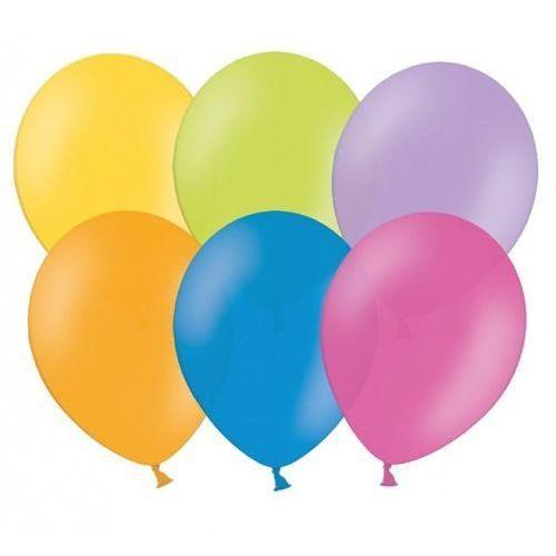 "Party world Balony 12"" strong, mix pastelowych kolorów, 10 szt. (5902230717602)"