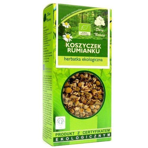 Dary natury - herbatki bio Herbatka z koszyczków rumianku bio 25 g herbata dary natury (5902741005960)