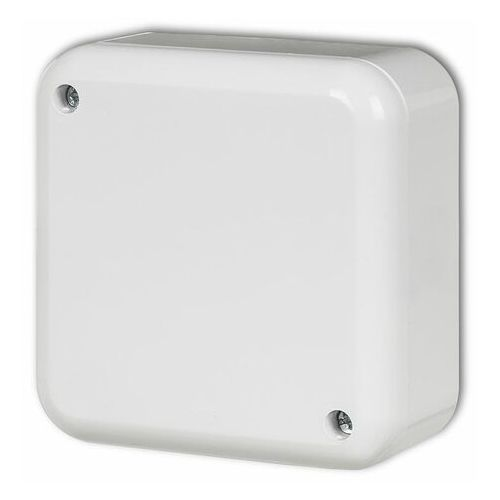 Karlik pn-2 puszka instalacyjna natynkowa bez złączek biały (5903292634401)