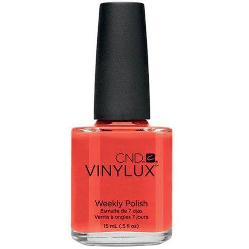 CND - VINYLUX - Electric Orange (O) #112 15ml - Electric Orange (O) #112 z kategorii lakiery do paznokci