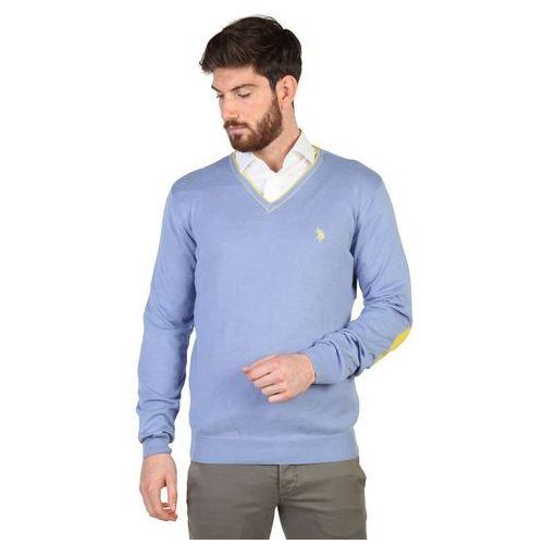 Sweter męski U.S. POLO - 42353_50357-20, kolor niebieski