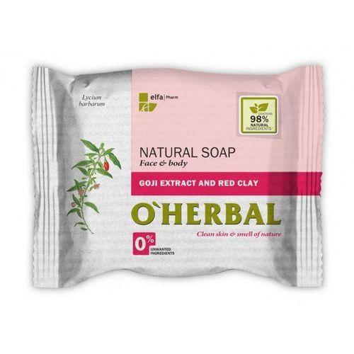 Elfa pharm O'herbal - naturalne mydło z ekstraktem z goji i czerwoną glinką 100g