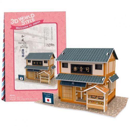 Cubicfun Puzzle 3d domki świata japonia