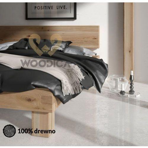 Woodica Łóżko dębowe caragana 02 180x200
