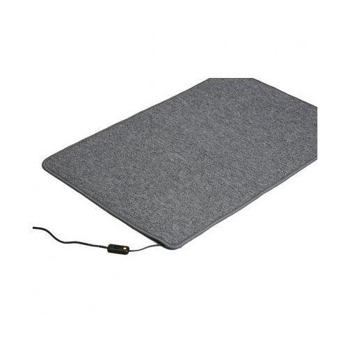 Podrzewany dywan, 60 x 90 cm, szary