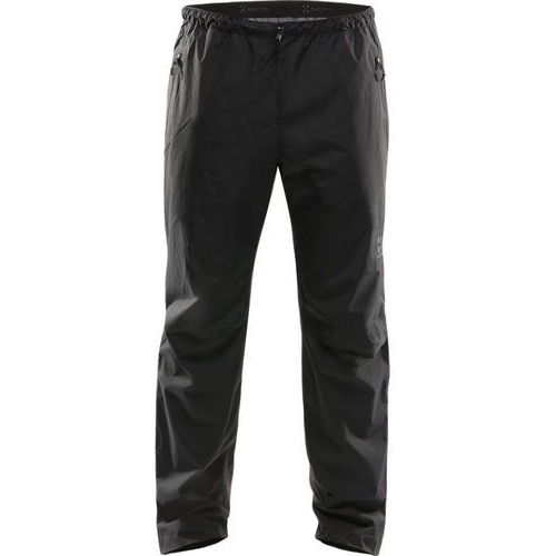 Haglöfs Scree Spodnie długie Mężczyźni czarny S 2019 Spodnie przeciwdeszczowe, 1 rozmiar
