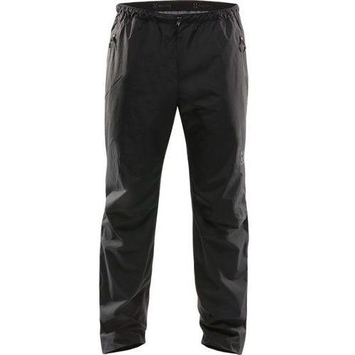 Haglöfs Scree Spodnie długie Mężczyźni czarny XL 2018 Spodnie przeciwdeszczowe