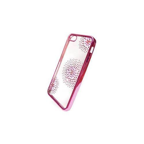 Beeyo Obudowa dla telefonów komórkowych  flower dots pro apple iphone 5/5s/se (beaapip5tpuflpi) różowy