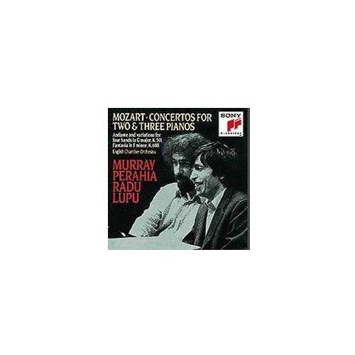 Sony classical Concertos for 2 and 3 pianos kv365 & 242
