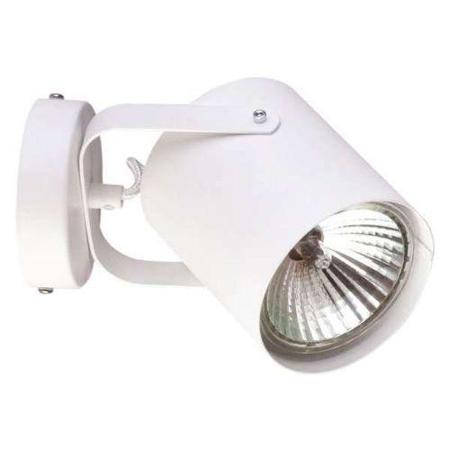 Kinkiet lampa ścienna flesz e27 31349 reflektorowa oprawa regulowana biała marki Sigma