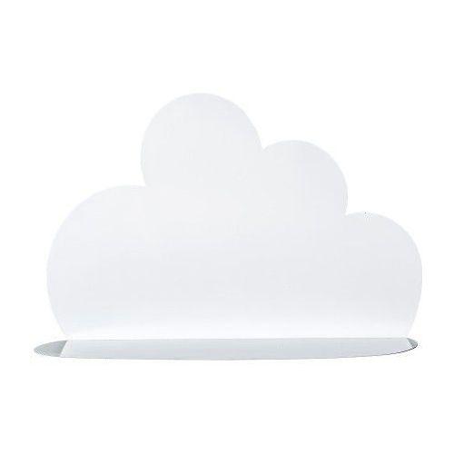 Bloomingville Duża biała metalowa półka chmurka -