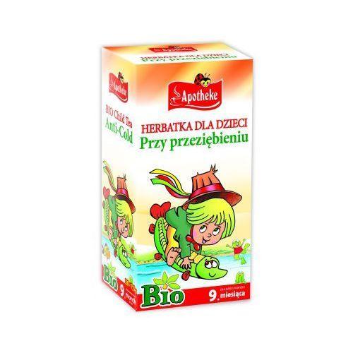 Herbatka dla dzieci PRZY PRZEZIĘBIENIU BIO od 9 mies. 20 x 1,5 g Apotheke (8595178201738)