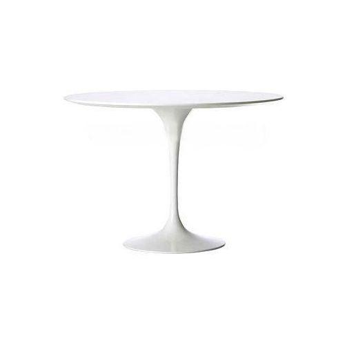 Stół Fiber o120 biały MDF