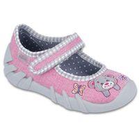 Befado buty dziewczęce speedy 23 różowy/szary