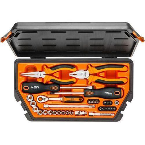 Zestaw narzędzi 08-631 (33 elementy) + zamów z dostawą jutro! + darmowy transport! marki Neo