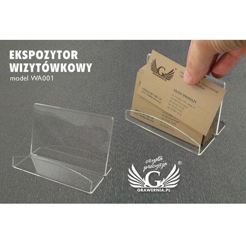 Ekspozytor wizytówkowy - model wa001 marki Grawernia.pl - grawerowanie i wycinanie laserem
