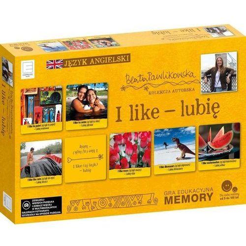 Edukacyjne memory językowe I like lubię