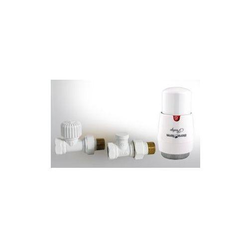 Varioterm Zestaw instalacyjny elegant prosty biały
