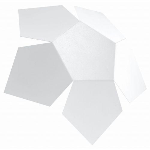 Sollux Kinkiet penta 2xg9/40w/230v biały (5902622429212)