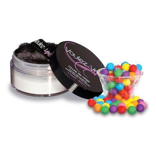 Smaczny pyłek do ciała - voulez-vous... edible body powder guma balonowa marki Voulez vous paris