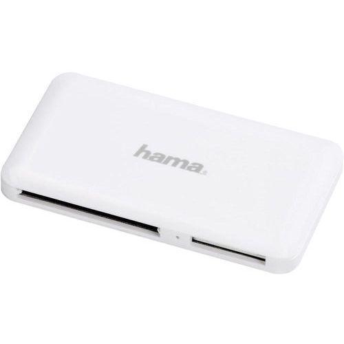 Czytnik HAMA Czytnik kart M-C-REA USB 3.0 Biały