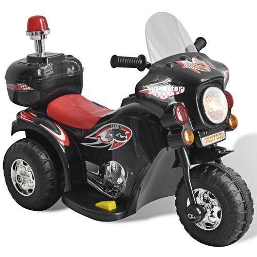 vidaXL Motocykl zasilany na baterię (czarny) (8718475886693)