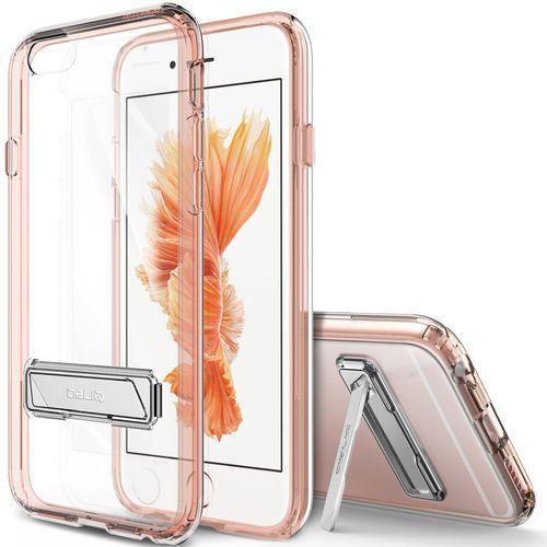 obliq obip6s-naked05 Naked Shield Fall z miejscem na do Apple iPhone 6/6S Różowy/złoty (0641871947027)