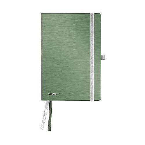 Notatnik w miękkiej oprawie Leitz Style A5 80 kartek kratka, pistacjowa zieleń